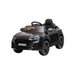 Autko elektryczne Audi RSQ8, 12V, pilot 2,4 GHz, wejście USB / SD, oświetlenie LED, akumulator 12V, miękkie koła EVA, 2 X 35W SILNIK, czarny, licencja ORYGINALNA