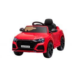 Autko elektryczne Audi RSQ8, 12V, pilot 2,4 GHz, wejście USB / SD, oświetlenie LED, akumulator 12V, miękkie koła EVA, 2 X 35W SILNIK, czerwony, licencja ORYGINALNA