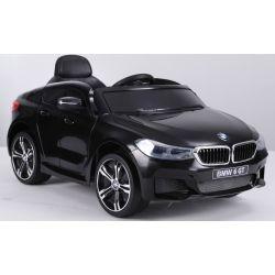 Elektryczne Autko, BMW 6GT, Pojedyncze Siedzenie, Czarny Kolor, Oryginalna Licencja, Zasilane Akumulatorem, Otwierane Drzwi, 2 x Silnik, Akumulator 2 x 6 V/4 Ah, Pilot Zdalnego Sterowania 2,4 Ghz, Płynny Start