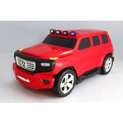 Licencjonowana walizka i etui 2w1 Mercedes-Benz Ener-G-Force czerwona