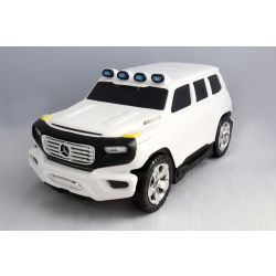 Licencjonowana walizka i etui 2w1 Mercedes-Benz Ener-G-Force biała