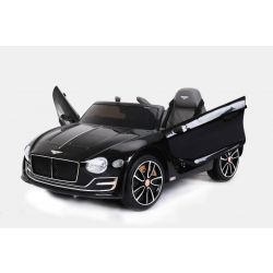 Autko Elektryczne Bentley EXP 12 Prototype, 12 V, Pilot 2.4 GHz, Drzwi Na Zawiasach, Koła EVA, Skórzane Fotele, 2 X Silnik, Czarny, Licencja ORYGINALNA